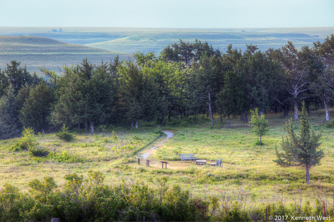 Flint Hills View - FH-006-S - National Tallgrass Prairie Preserve, Flint Hills Kansas - Standard Proportion 2 x 3