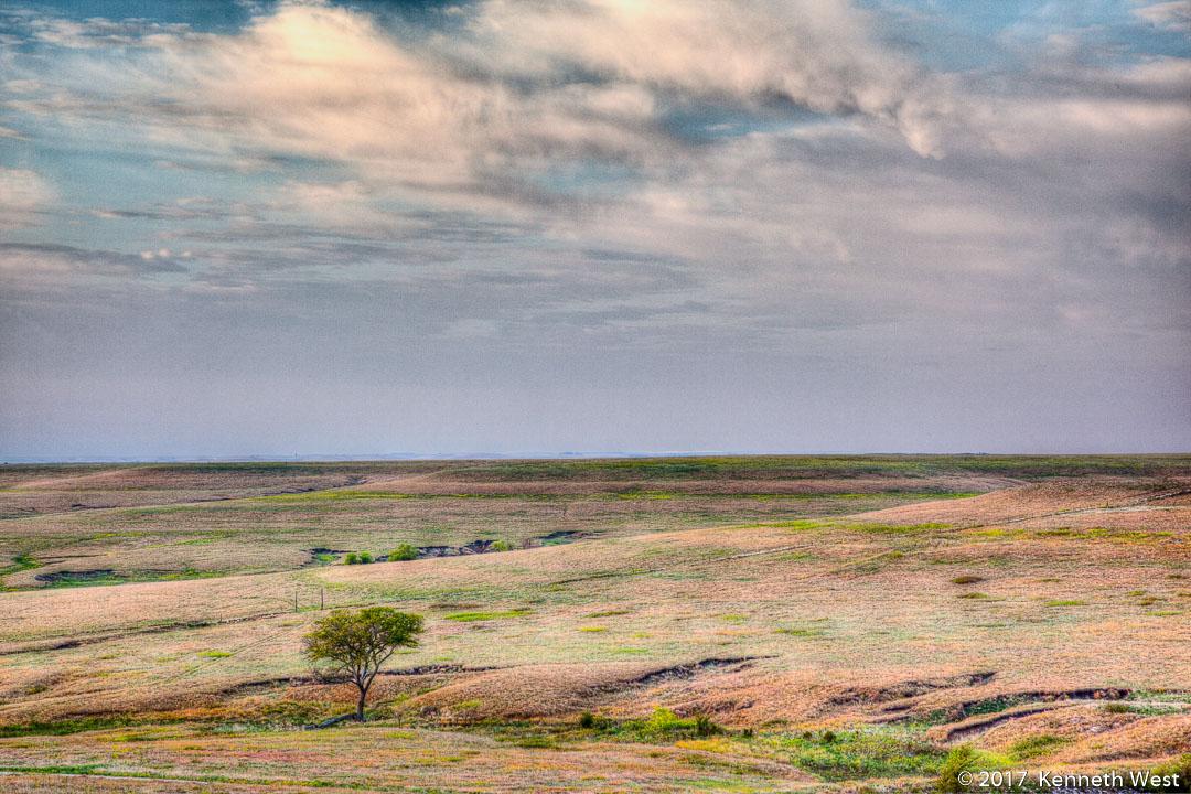 Morning in the Flint Hills - FH-022-S - National Tallgrass Prairie Preserve, Flint Hills Kansas - Standard Proportion 2 x 3