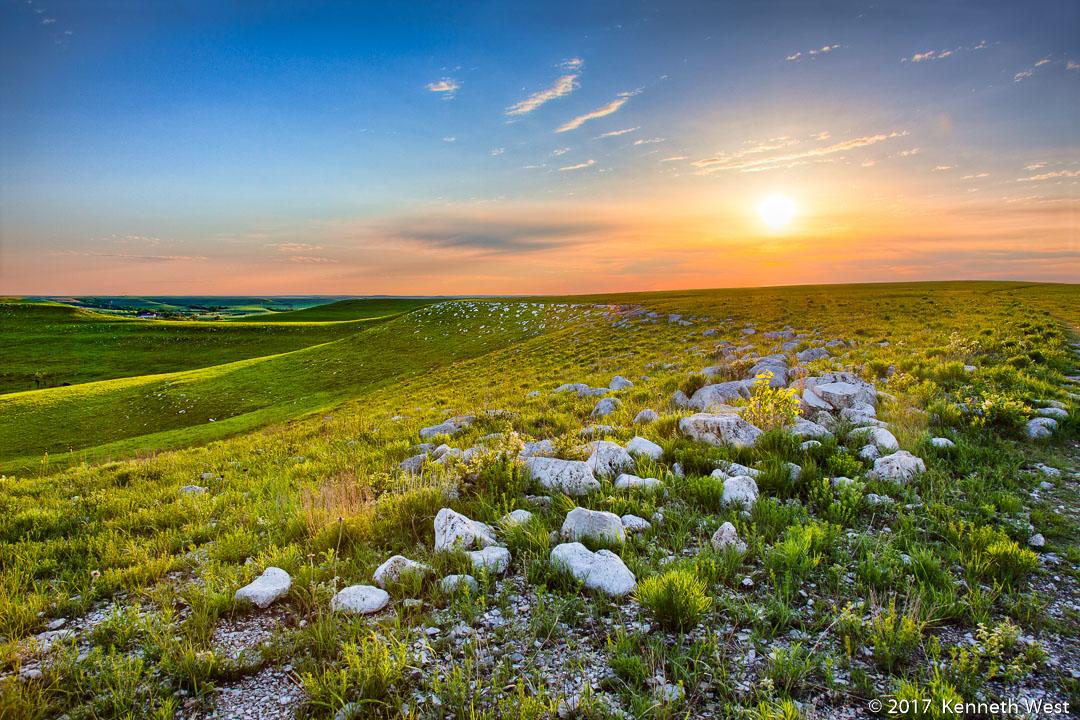 Konza Prairie Series - FH-034-S - Flint Hills, Kansas - Standard 2 x 3 Proportion